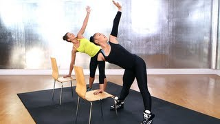 Download Madonna's Chair Workout, Do-Anywhere Workout, FIt How To Video