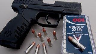 Download .22 LR Handgun for Self Defense? CCI Stinger Ammo Test Video