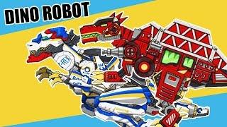 Download หุ่นยนต์ไดโนเสาร์ T-Rex และ SpinoSaurus Dino Robot Toy 📱 เกมมือถือ (DevilMeiji) Video