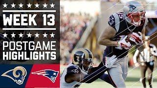 Download Rams vs. Patriots (Week 13) | Game Highlights | NFL Video