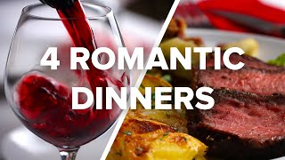 Download 4 Romantic Dinners For Date Night Video