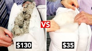 Download $35 Pillow VS $130 Pillow! - Which gives you the better sleep? Video