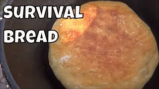 Download How to Make Simple Survival Bread with 4 Ingredients Long Term Survival Skills Video