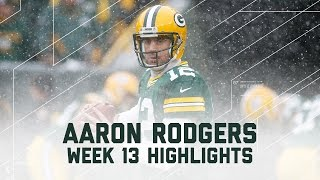 Download Aaron Rodgers' 2 TDs in the Blizzard! | Texans vs. Packers | NFL Week 13 Player Highlights Video