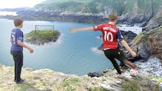 Download CLIFF TOP FOOTBALL CHALLENGES Video