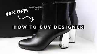 Download HOW TO BUY DESIGNER BRANDS FOR CHEAP (SHOPPING HACKS TO SAVE MONEY!) Video