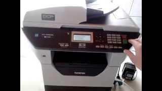 Download Impressora E Copiadora Multifuncional Brother Dcp-8080dn Video
