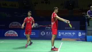 Download Thaihot China Open 2016 | Badminton SF M1-MD | Chai/Hong vs Gid/Suk Video