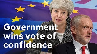 Download Government wins no confidence vote amid Brexit chaos|#BREXIT Video