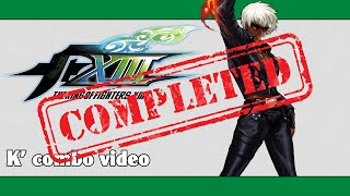 Download KoF XIII: K' combo video (FINAL VERSION) Video