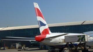 Download British Airways Takeoff 777-300 Heathrow LHR to Newark EWR Video