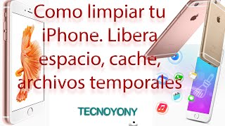 Download Como limpiar nuestro iPhone. Borrar Cache iPhone, archivos temporales Video