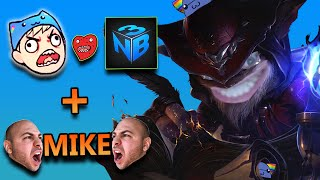 Download ZIGGS MID WITH NIGHTBLUE3 AND RAGING MIKE - League of Legends With Friends Video