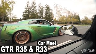 Download Legal GTR R33 in the USA?! CAR MEET: Dreams and Cars Video