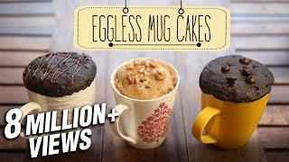 Download Eggless Mug Cakes | 2 Minute Microwave Mug Cakes | Beat Batter Bake With Priyanka Video