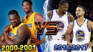Download COULD THE WARRIORS BEAT THE 2000-01 LA LAKERS?? CURRY & DURANT vs KOBE & SHAQ! Video