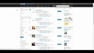 Download Example of many different ways to find Java software developers on LinkedIn Video