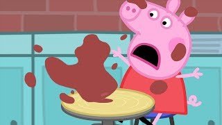 Download Peppa Pig Português Brasil - Poças De Lama #PeppaPigBrasil Video