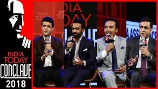 Download Ganguly, Rahane, Prithvi Shaw & Rahul Johri | Game Changers: Form And Format | IT Conclave 2018 Video
