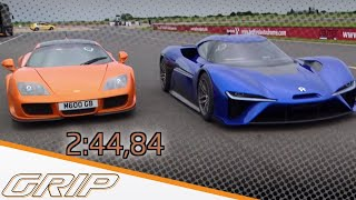 Download Elektro-Supersportwagen NIO EP9 - GRIP - Folge 408 - RTL2 Video