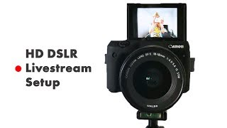 Download How to live stream with a DSLR Camera (HD Livestream Setup Tutorial) OBS & BeLive.TV Video