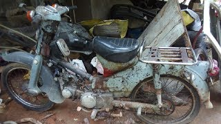 Download Old Honda Japan Motorcycle Starting Up After 10 Years | Old Motorcycle restoration Part 1 Video