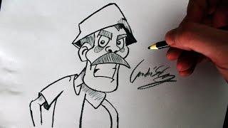 Download Como Desenhar o Seu Madruga - (Cómo dibujar Don Ramon) - SLAY DESENHOS #138 Video
