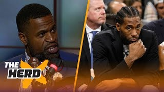 Download Stephen Jackson on Kawhi trade rumors, Draymond in a soft NBA and LeBron's Cavs | NBA | THE HERD Video