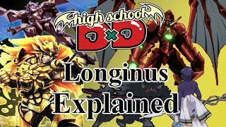 Download What are the Longinus of Highschool DxD? The Tools that Destroy God Video