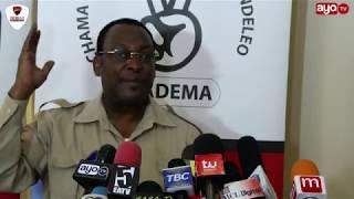 Download Sababu za CHADEMA kwa nini fedha haipatikani mifukoni Video