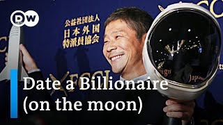 Download Japanese billionaire seeks date for SpaceX Moon trip   DW News Video