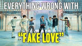 Download Everything Wrong With BTS - ″Fake Love″ Video