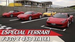 Download FERRARI F430 E 458 ITALIA - ESPECIAL #56 | ACELERADOS Video
