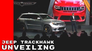 Download 2018 Jeep Grand Cherokee Trackhawk Unveiling Video