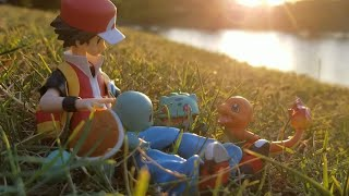 Download Pokémon Figure Review: Figma Red ″Finding Your Way″ Charmander, Bulbasaur, and Squirtle figure Ep. 5 Video