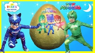 Download PJ MASKS GIANT EGG SURPRISE Toys for Kids Video