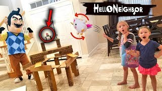 Download Hello Neighbor in Real Life Shopkins Toy Scavenger Hunt!! Video
