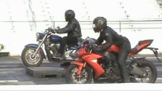 Download V Star 1300 Drag Race 072 Video