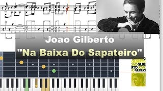 Download João Gilberto - ″Na Baixa Do Sapateiro″ - Virtual Guitar Transcription by Gilles Rea Video