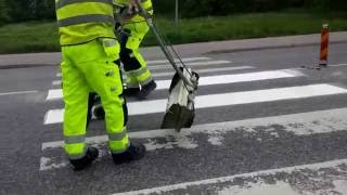 Download SWEDEN - Thermoplastic road marking project performed by Swedish company EKC Sverige AB - Part II Video