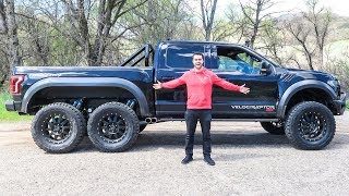 Download The Hennessey Velociraptor 6x6 Costs $350,000 And It's Amazing Video