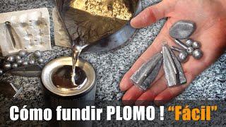 Download Cómo Fundir PLOMO en casa para pescar FÁCIL ! Video
