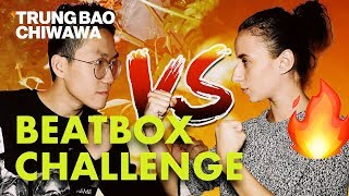 Download My Girlfriend Can Beatbox Better Than Me 😱 | Beatbox Challenge - Trung Bao & Chiwawa Video