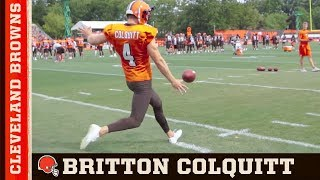 Download Britton Colquitt, The Life of a Punter | Cleveland Browns Video