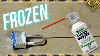 Download Can You Break A Lock With Canned Air? (Movie Mythbusting) Video