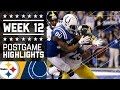 Download Steelers vs. Colts (Week 12) | Game Highlights | NFL on Thanksgiving Video