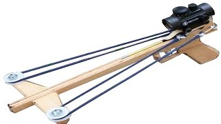 Download Building and Shooting the Slingshot Crossbow Pistol 3 Video