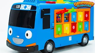 Download Best Educational Toy Videos for Kids: Fun Kid Learning Movie Tayo the Little Bus Cute Kid Genevieve! Video