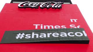 Download Coca-Cola Refreshes Times Square Sign Video