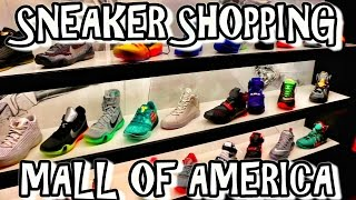 Download SNEAKER SHOPPING AT THE MALL OF AMERICA Video